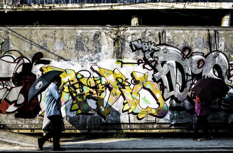 Walk with art Eye4photography  EyeEm Best Shots EyeEm Gallery Eyeem Philippines Street Street Photography Streetart StreetsWithPeople The Street Photographer - 2016 EyeEm Awards Urban Urbanexploration Urbanphotography