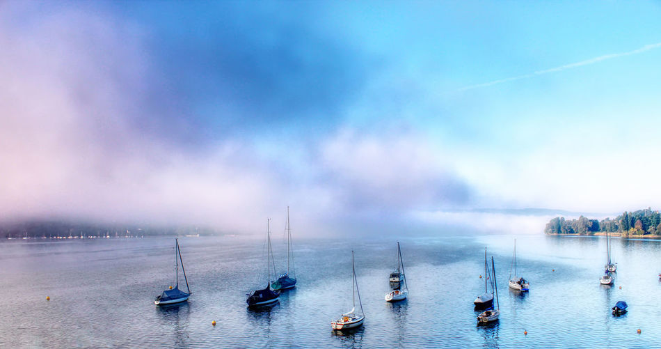 Foggy morning at the Lake of Constance EyeEmNewHere Landscape Photography Landscape_Collection Beauty In Nature Day Fog Landscape Landscape #Nature #photography Landscape_photography Landscapephotography Landscapes Nature Nautical Vessel Outdoors Passenger Craft Sailboat Scenics - Nature Sea Sky Tranquility Transportation Travel Travel Destinations Water Waterfront Holiday Moments