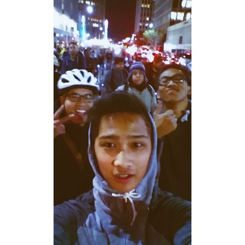 Throwback to first ride with Noli and Jape! #criticalmass #LA #caseyjr #chuggachugga #familygrouplove La Criticalmass Caseyjr Chuggachugga Familygrouplove