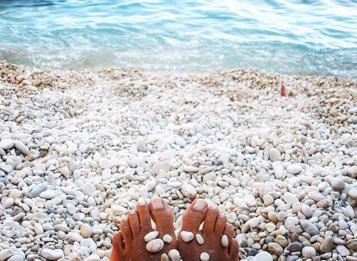 Leukada, Greece Human Body Part Sea Beach People One Woman Only EyeEm EyeEm Best Shots Eye4photography  EyeEm Nature Lover EyeEm Gallery Colour Of Life