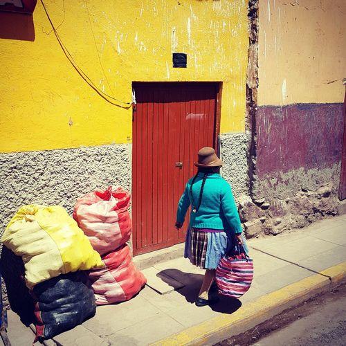 Cusco day life
