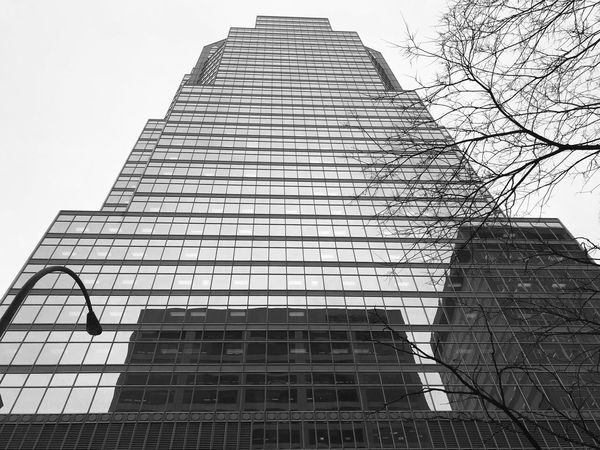 Architecture Building Exterior Built Structure Low Angle View Tower Skyscraper Modern Pyramid City Day Travel Destinations Sky Corporate Business Outdoors No People Moments EyeEm Gallery Eyeemphotography Capture The Moment VisualArt  Montreal, Canada 🇨🇦