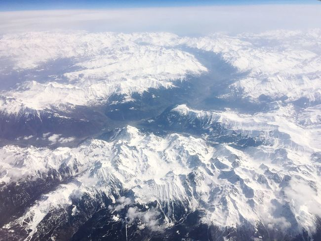 Mountain Aerial View Scenics Beauty In Nature Mountain Range Majestic Landscape Dramatic Landscape Extreme Terrain Nature Mountain Ridge Snow Idyllic Physical Geography Airplane Aircraft Nature Glacier Alps Ice Age