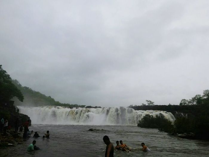 Real nature bogatha waterfalls at bhadrachalam in telangana state india
