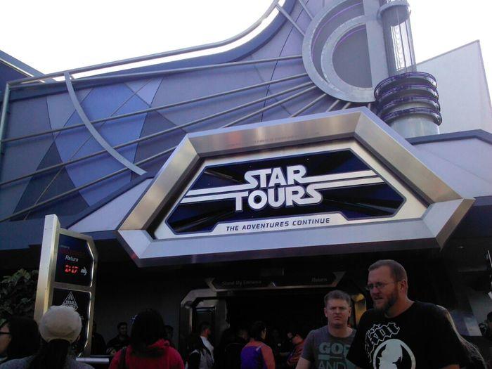 Traveling Disneyland Star Wars My Bday