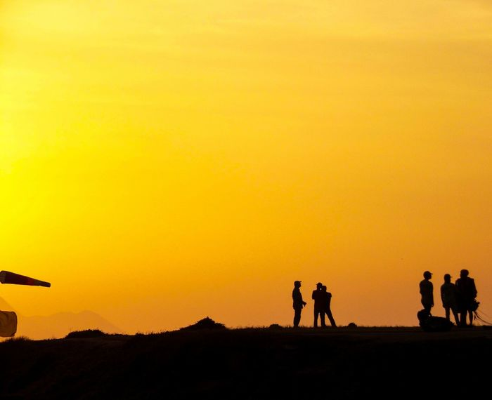Live For The Story Sunset Silhouette Desert Outdoors Adventure People Adult Sky Sand Dune Day Skyscraper Lost In The Landscape