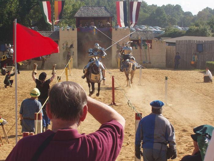 Fun Horses Jousting Leisure Activity Lifestyles Outdoor Games Renaissance Renaissance Festival Tournament