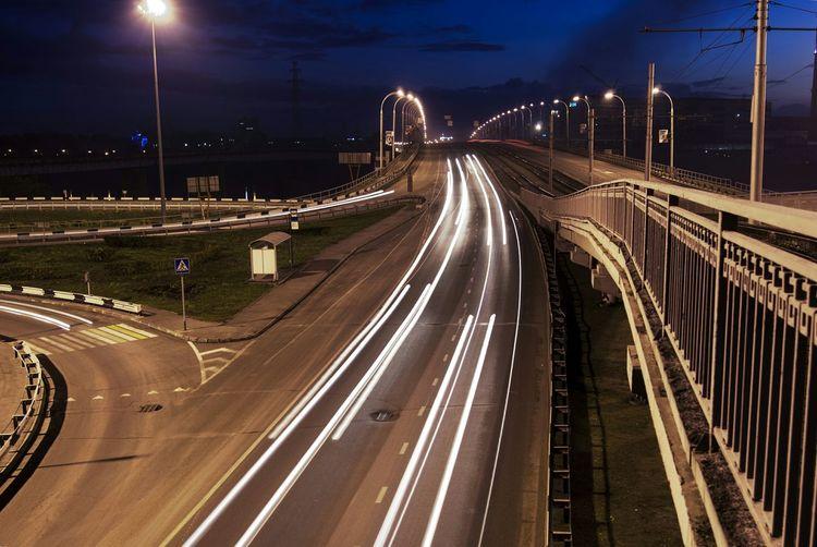 Kuzbass Nightphotography Night Urban City Night Lights Road Light And Shadow Long Exposure I Love My City
