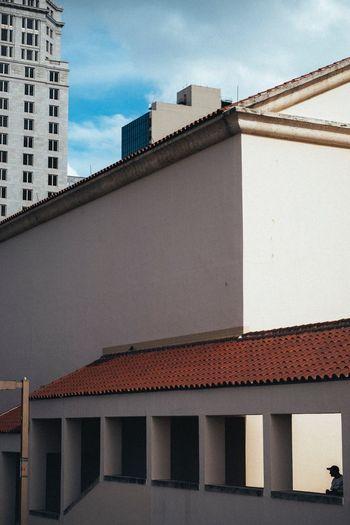 Shadows Architecture Building Exterior Built Structure Sky Roof City Colour Your Horizn Outdoors Day Adventures In The City Adventures In The City