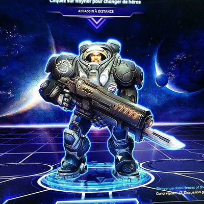 Raynor ! Come join me ! Hots computersla2960 Moba game