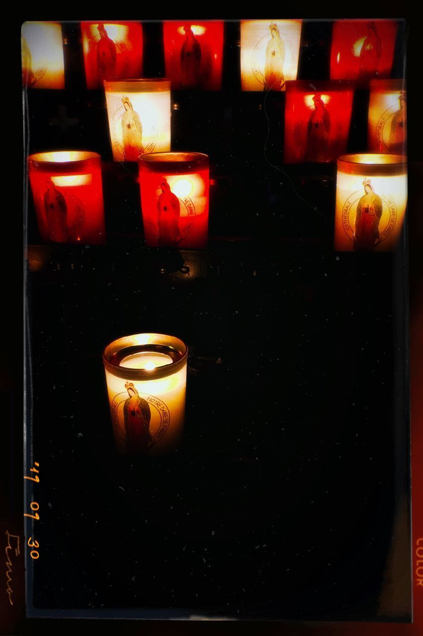fire, flame, burning, candle, fire - natural phenomenon, illuminated, heat - temperature, glowing, indoors, no people, close-up, lighting equipment, nature, dark, religion, belief, place of worship, spirituality, wax, transfer print, tea light, melting