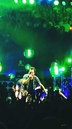 Pearl Jam ❤ Arts Culture And EntertainmentWorld Tour 2016 Concert... Music Adult People Night Musician Illuminated Nightlife Sitting Only Women Adults Only Real People Popular Music Concert Performance Full Length Front View Candid Performing Arts Event Women Crowd