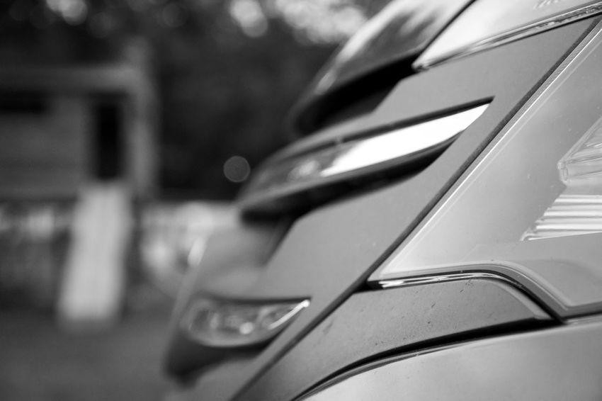 Car Bumper Taking Photos B&w Shades Of Grey