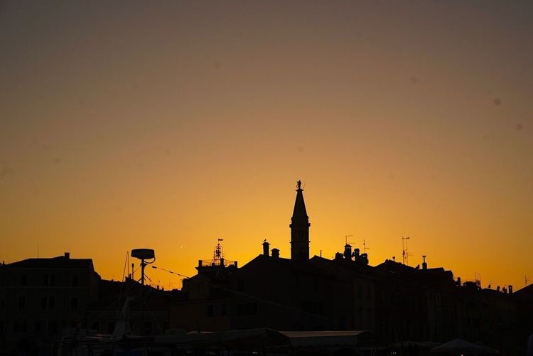 Memories of a Great holiday in Croatia Rovinj Sunset Sunset Silhouettes Town City Cityscape Cityscapes Ladyphotographerofthemonth Shootermag Architecture Building Exterior Silhouette Landscape Landscape_Collection Fine Art Photography Travel Destinations EyeEm Best Shots Eye4photography  Eyeemphotography EyeEmBestPics Sunset_collection Sunsets City Life City View  Paint The Town Yellow Been There. Done That. The Week On EyeEm Been There. Done That. Connected By Travel The Architect - 2018 EyeEm Awards