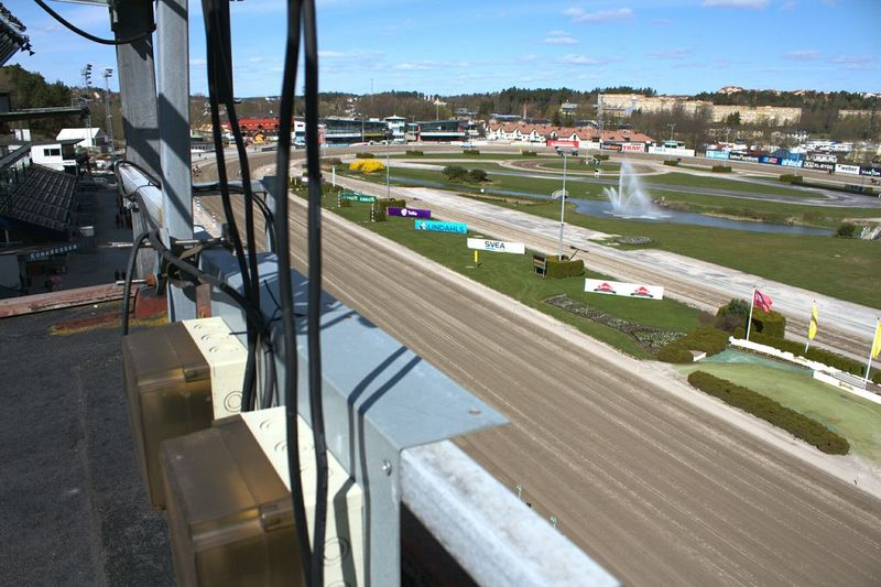 A Bird's Eye View High Angle View Sky Day Outdoors No People Horse Track Race