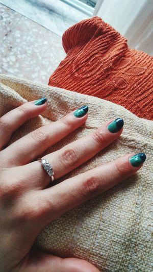 Smalto Manicure Mani Trilogy Anello Gioiello