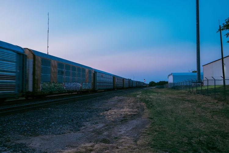 Train Sky Built