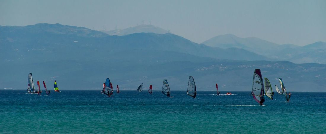Windsurfing Watersports Greece Holiday POV Water_collection Beach Photography Holiday Lefkas Sea And Sky Landscape_Collection Landscapes With WhiteWall Blue Wave