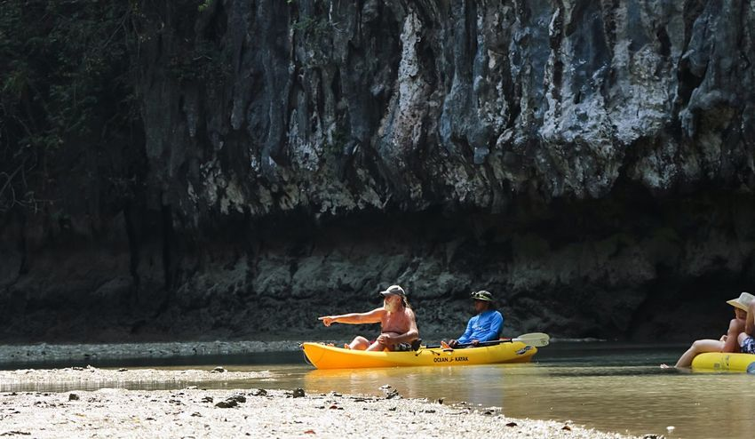 Adventure Club Cave Tours Happy Old Man Happy People Kyaking Adventure Time! From My Point Of View Enjoying Life Creative Light And Shadow Light And Shadow Cave Adventure
