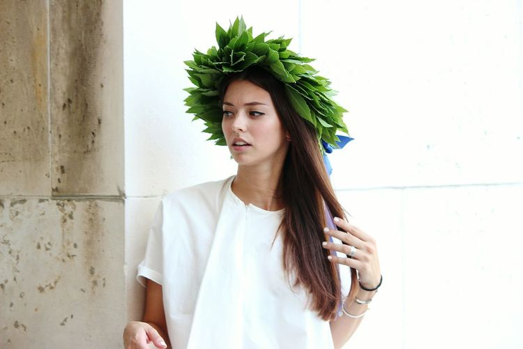 Alessia Littlecousin Graduate Happiness