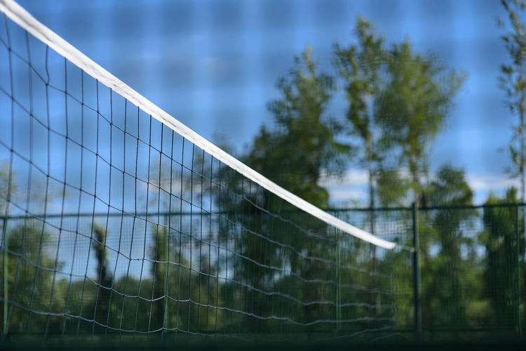 Volleyball net and playground Play Time Barrier Cage Caged Competition Focus On Foreground Game Net Net - Sports Equipment No People Outdoors Playground Playing Field Safety Sport Tournament Volleyball Volleyball Net