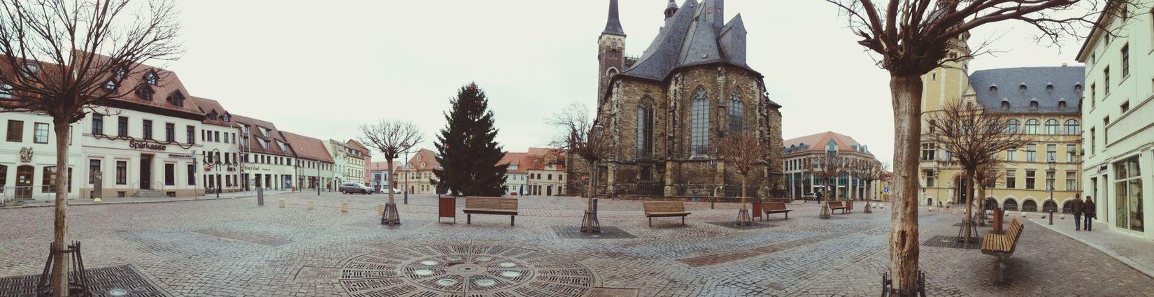 Dezember Stadt Kirche Taking Photos