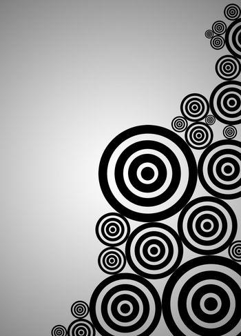 Designs Black And White Circles Circles In Circles Circular Design Decal Pattern Photoshop First Eyeem Photo