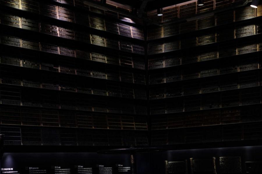 Display Shadows & Lights Illuminated Indoors  Metal Metal Type Museum No People Architecture