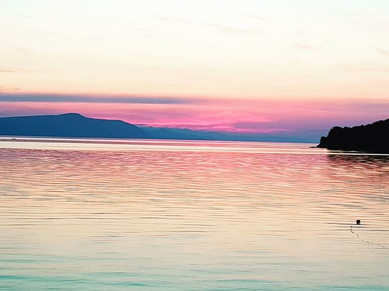 Water Sea Sunset Beach Pink Color Red Sky Horizon Over Water Landscape Romantic Sky Dramatic Sky Wave