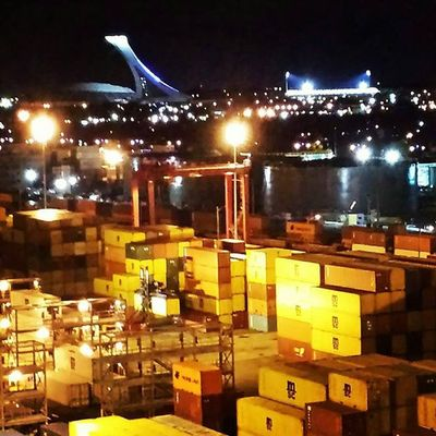 @regram @gillescollin 📷 nice view of @montreal from the PortMTL Superbe vue de @Mtl vue du port de Montréal 👍