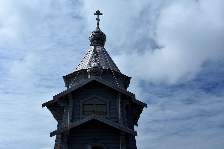 Antarctic Antarctic Peninsula Antarctica Bellingshausen Station Frozen Naval Base Orthodox Church Russia Russian Orthodox