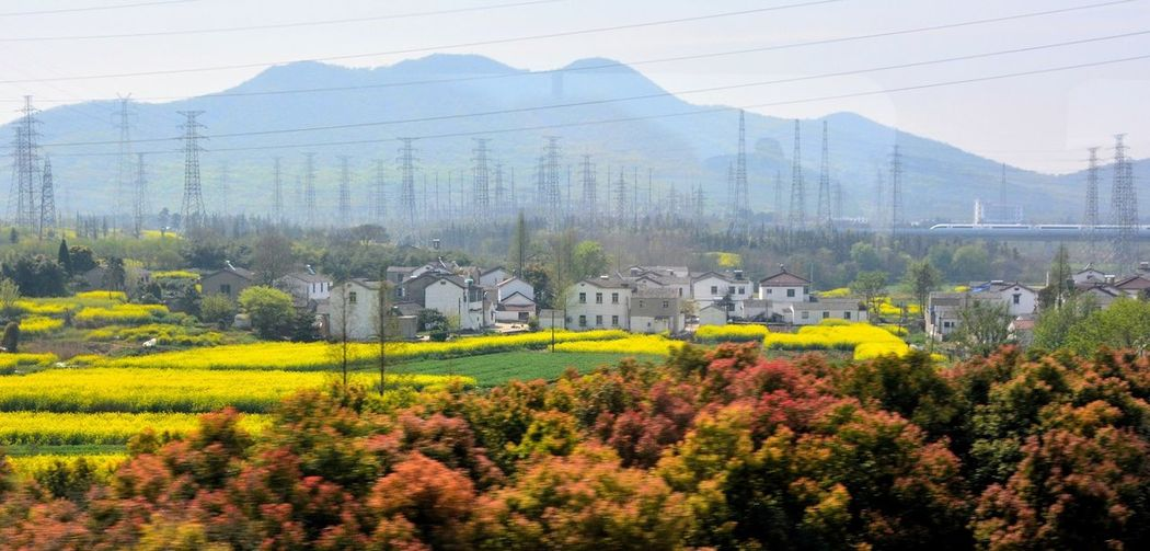 Outside the window Springtime Traveling In China Landscape The View From My Window