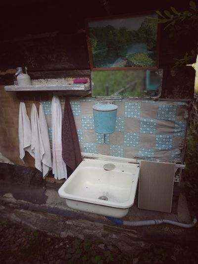 Country life Countryside Village Garden Summer Towels Washbasin Mirror Coathanger Business Finance And Industry Closet