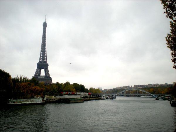 Architecture Bridge Built Structure Famous Place International Landmark Landscape River Tour Eiffel Tower Lamdscapes With Whitewall