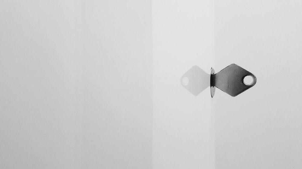 very minimal Minimalism Minimal Key Reflection Bathroom Cabinet Cabinet Door Interior Interior Style Background Copy Space Indoors  Day No People The Week On EyeEm