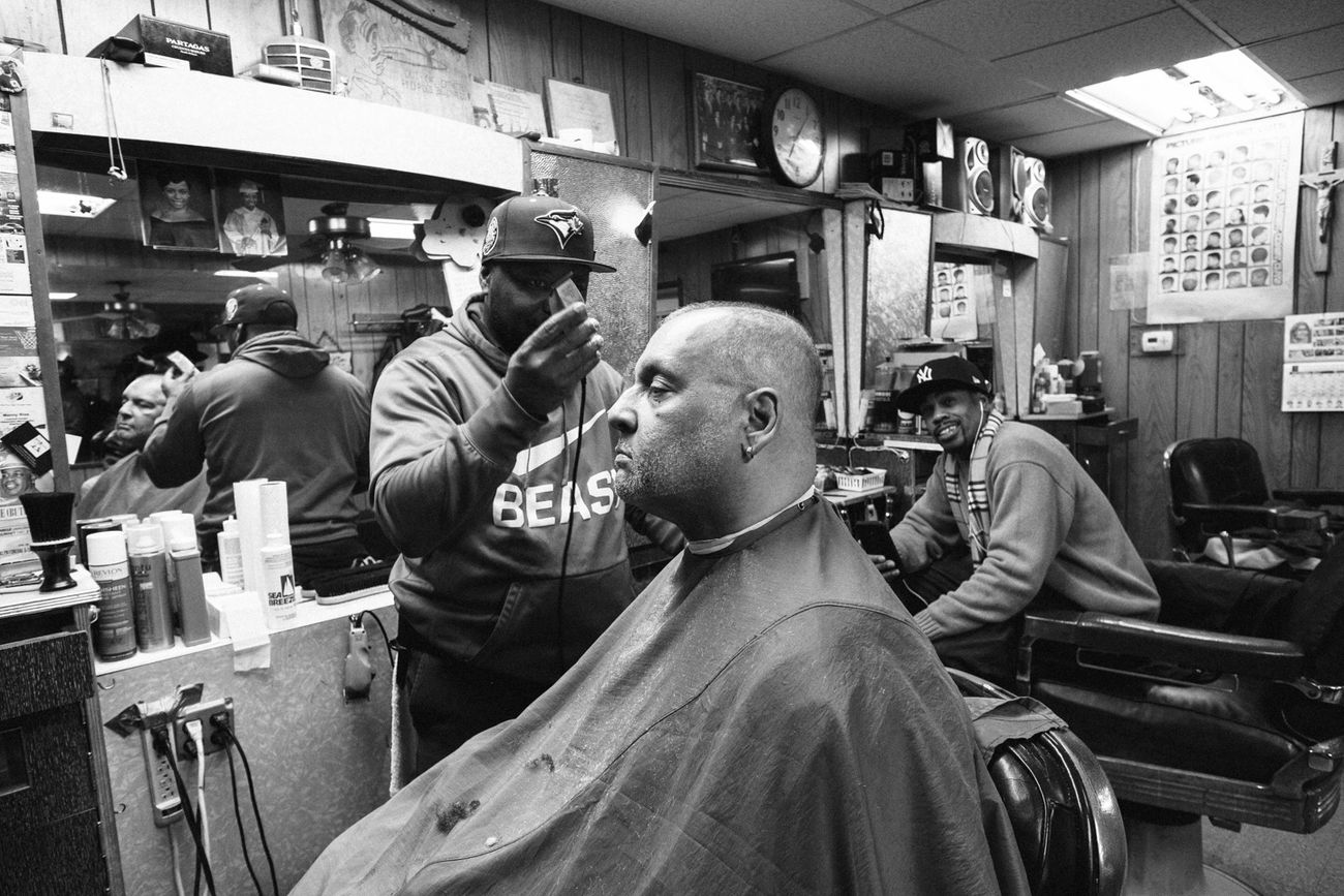 men, barber, real people, occupation, indoors