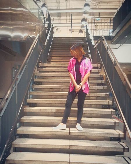 Only Women Likeforlike Myworld Steps One Person Outdoors People Full Length Steps And Staircases Staircase Day Adults Only Mayzyko Mayzykoscarf