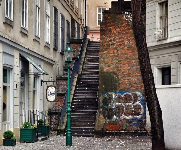 Vienna Wien Stairs Stairways Treppe Laterne Streetlamp Streetlight