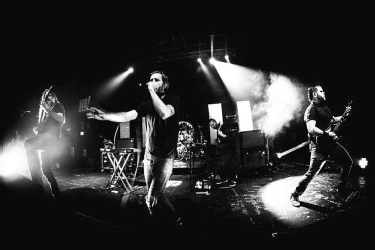 Throwback to @btbamofficial Btbam Comaecliptic Comaecliptictour Metal ProG Bw Blackandwhite Live LiveMusic Concertphotography Betweentheburiedandme