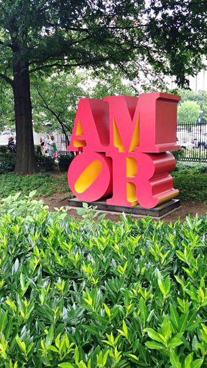Holiday POV Pretty Favorite WashingtonDC ArtWork Sculpture Amor Love 🌻✨ Mypic