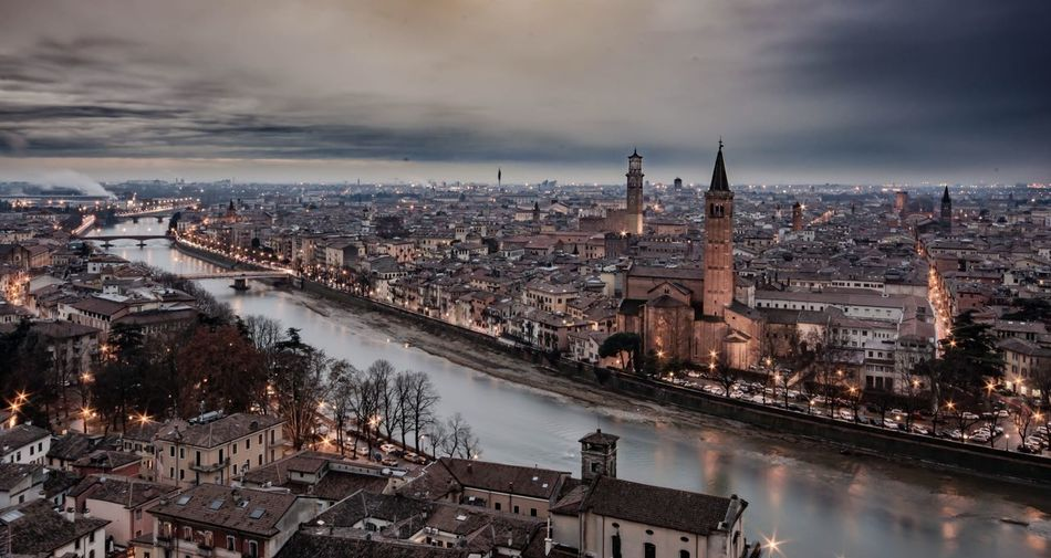 always beautiful ❤️ Naturelovers Travel Gettyimages Passion Italy Outdoors Landscape Natgeo Nikonphotography Verona Architecture Built Structure Building Exterior City Cityscape Sky Water River Building Cloud - Sky Bridge Connection High Angle View Crowd Nature Travel Destinations Illuminated Crowded Bridge - Man Made Structure Outdoors My Best Photo Humanity Meets Technology Humanity Meets Technology My Best Photo