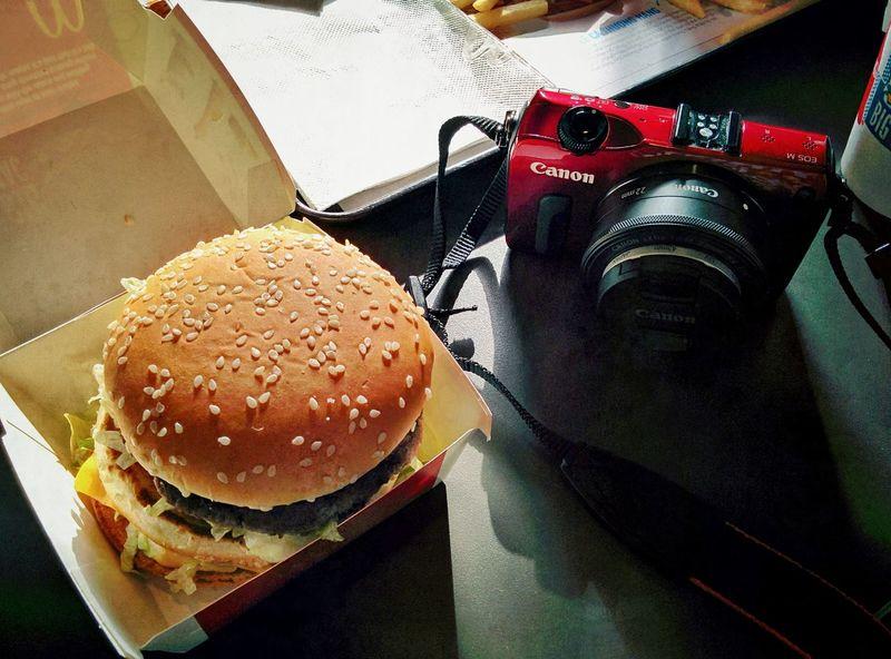 Same size Canon EOS M Mac Donald