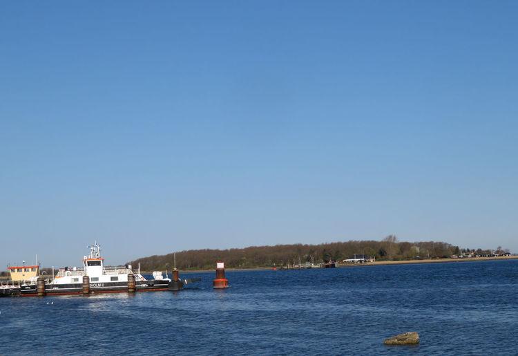 Ferry Island Water Clear Sky Sea Nautical Vessel Blue Sunny Passenger Craft