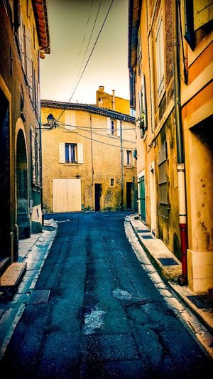 Architecture Building Exterior Built Structure Street No People The Way Forward City Outdoors Residential Building Road Day Sky