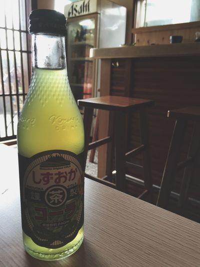Q彈的鰻魚,新鮮無比的生蚵醋,綠茶可樂新滋味~覺得幸福 Green Tea Coke Oysters Slow Life Delicious Delicious ♡ Japan