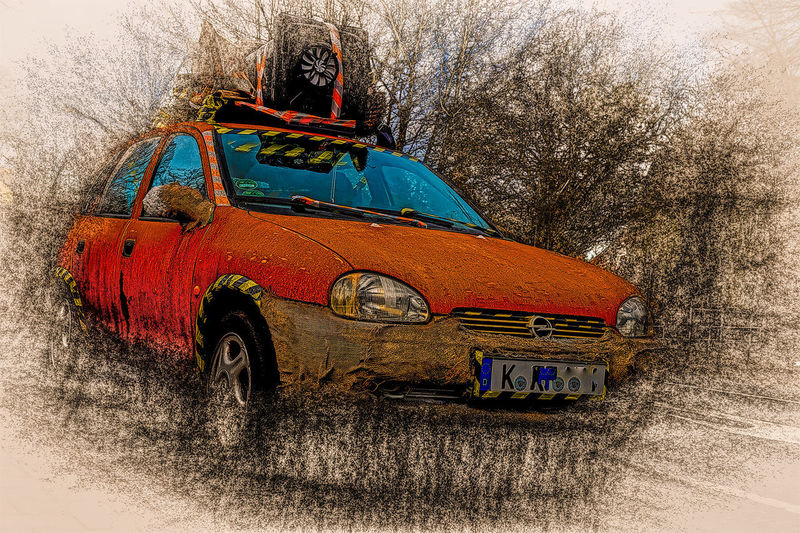 Car Day Land Vehicle Mode Of Transport Nature No People Outdoors Rusted Rusted Car Streetphotography Transportation Tree