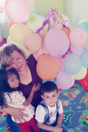 Balonlar Cocuklar