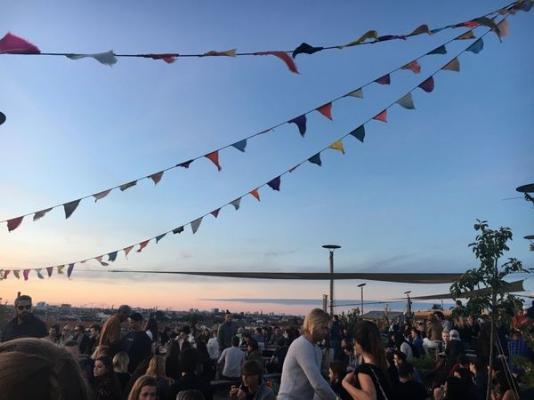 Arts Culture And Entertainment Bunting Celebration Celebration Event Cloud - Sky Crowd Day Enjoyment Large Group Of People Leisure Activity Lifestyles Men Multi Colored Nature Outdoors People Real People Sky Togetherness
