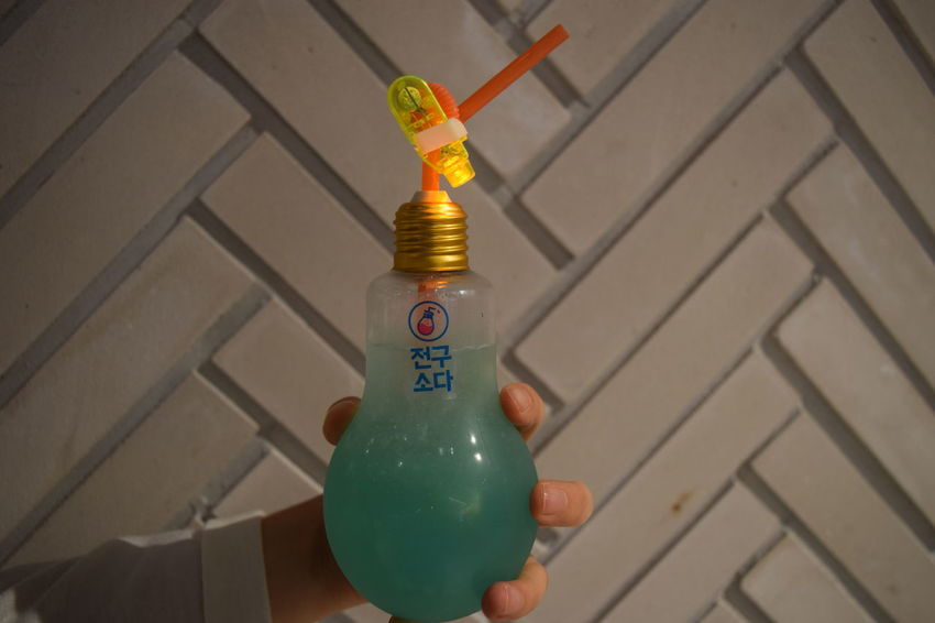 Beverage Bulb Close-up Day Human Body Part Human Hand One Person Outdoors People Straw