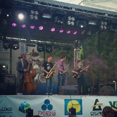 Banditos Band Live on Europe Day in Vinnitsa Винница Vnua